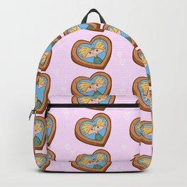 "Fan art ""Hey, Arnold"". valentine,Heart shaped photo Backpack"