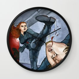 Deadly Wall Clock