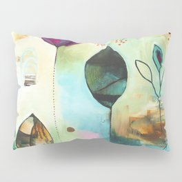 """Abundance"" Original Painting by Flora Bowley  Pillow Sham"