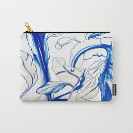 Plant in Blue Marker - Leaf of Life Miracle Leaf - Original Blue Carry-All Pouch