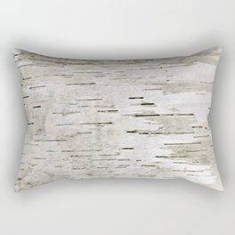 Birch Bark Skin Rectangular Pillow