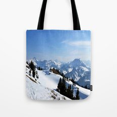 Winter Paradise in Austria Tote Bag