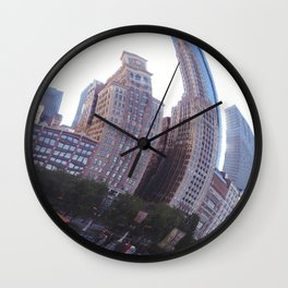 Reflecting, Chicago City in Cloud Gate Wall Clock