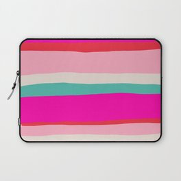 Candy Stripe Christmas Laptop Sleeve