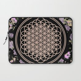 This Is Sempi-floral Laptop Sleeve