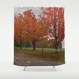 Fall Countryside Shower Curtain