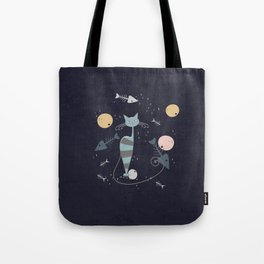 Cats are the best friends Tote Bag