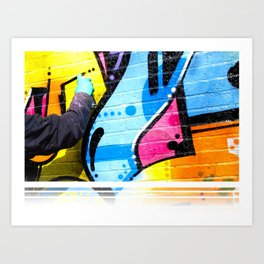 That Funky Style - Sprayed Art Print