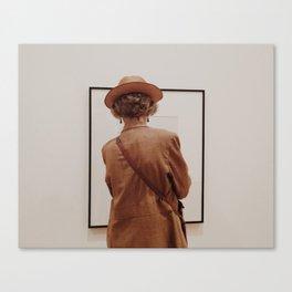 MOMA ART WATCHER Canvas Print