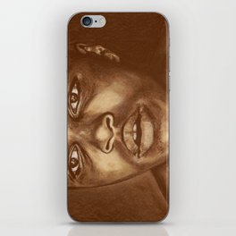round 1...cassius clay iPhone Skin