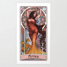 Zodiac Art Show - Aries Art Print