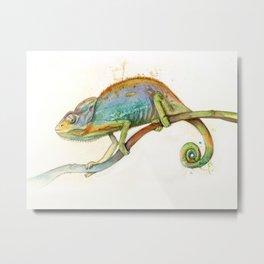 Chroma Chameleon Metal Print