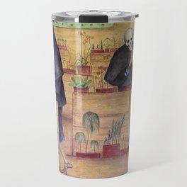 The Garden of Death fresco by Hugo Simberg Travel Mug