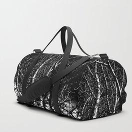 Bare Winter Trees Duffle Bag