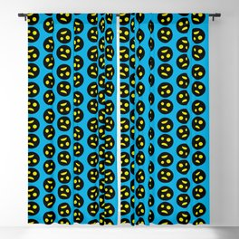 Scared and dark smiling Emotion Face Blackout Curtain