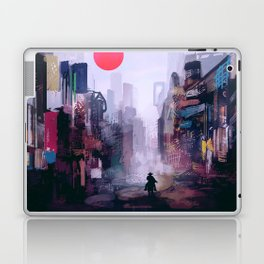 Strange Mornings Laptop & iPad Skin