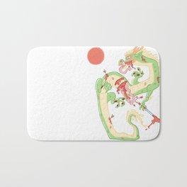 Dragon Battle Bath Mat