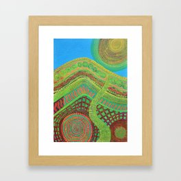 Pathway to Sun Framed Art Print