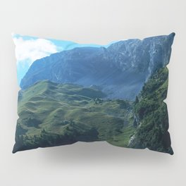 Pastures in the Alps Pillow Sham