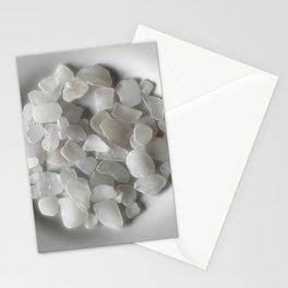 White on White on White Stationery Cards