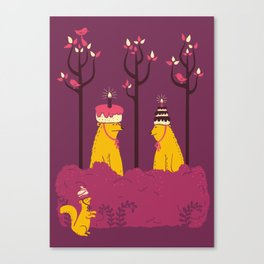Do You Like My Hat? Canvas Print