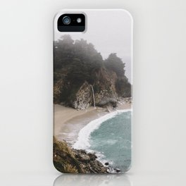 Foggy McWay Falls iPhone Case