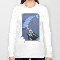 scuba Long Sleeve T-shirts featuring Scuba diver by Aquamarine Studio