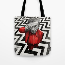 Homage to Twin Peaks - Fire walk with me Tote Bag