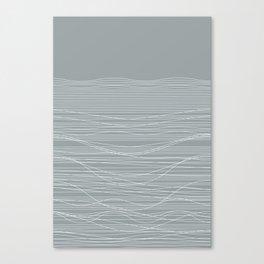 Unstable Lines Canvas Print