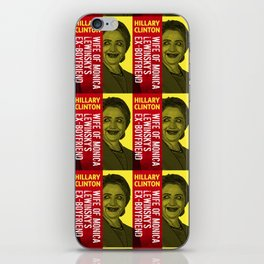 Hillary Clinton Is Scary iPhone Skin