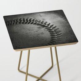 Black and white Baseball Side Table