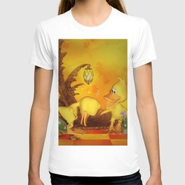Cute little ducks, best friends T-shirt