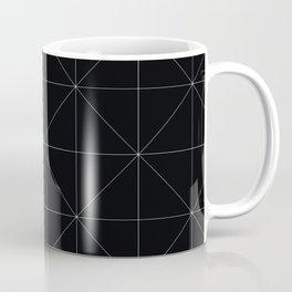 Geometric black and white Coffee Mug