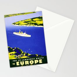 klassisch Lawrence Route Stationery Cards