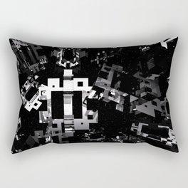 Space Debris Rectangular Pillow