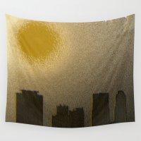 miami Wall Tapestries featuring Miami by Maria Julia Bastias