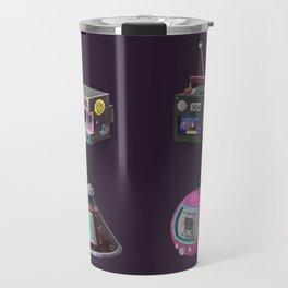 Illustration 90s Retro Travel Mug