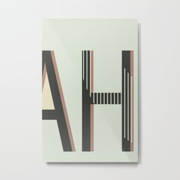 AH Metal Print