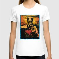 trumpet T-shirts featuring Trumpet Fire by Rick Borstelman