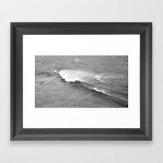 Retro wave Framed Art Print