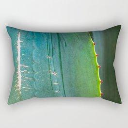 Scarred Succulent Rectangular Pillow
