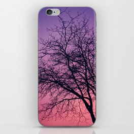 Purple Peach Sunset iPhone Skin