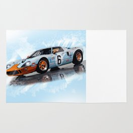 Ford GT40 1968 Rug