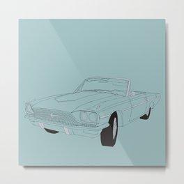 1966 Ford Thunderbird Metal Print