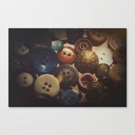 Button Club Canvas Print