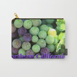 Red grapes,Northern California and harvest time in Napa Carry-All Pouch