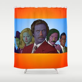 Anchorman Shower Curtain