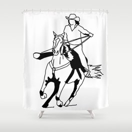 The Home Stretch Shower Curtain