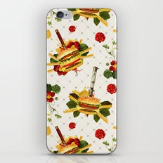 cheeseburger in gangstas paradise iPhone Skin
