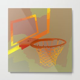 Above the rim Metal Print
